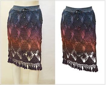 The professional garments photo editing services